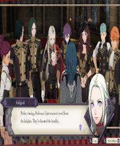 Fire Emblem three houses Edelgard and the black eagles Nintendo Switch