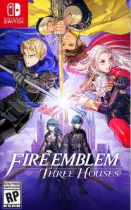 Fire Emblem three houses Nintendo Switch boxart