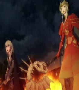 Byleth and Edelgard kill Lady Rhea fire Emblem three houses Nintendo Switch