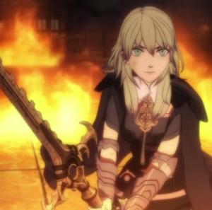 Byleth vs dragon Rhea fire Emblem three houses Nintendo Switch