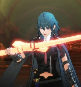 Byleth finds the sword of the creator fire Emblem three houses Nintendo Switch