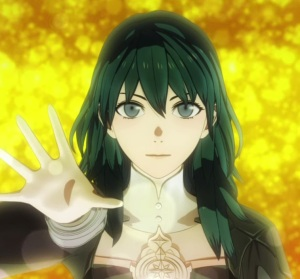 Byleth agrees to merge with Sothis fire Emblem three houses Nintendo Switch