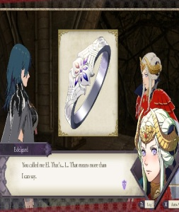 Byleth marries emperor Edelgard fire Emblem three houses Nintendo Switch