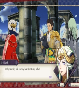 Claude goes into exile fire Emblem three houses Nintendo Switch