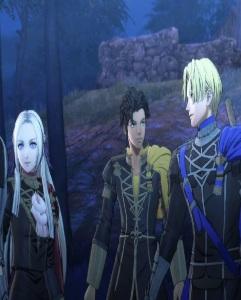 Dimitri Edelgard and Claude fire Emblem three houses Nintendo Switch