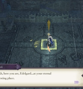 Dimitri in battle fire Emblem three houses Nintendo Switch