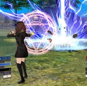 Dorothea casts magic fire Emblem three houses Nintendo Switch