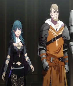 Jeralt and daughter Byleth fire Emblem three houses Nintendo Switch