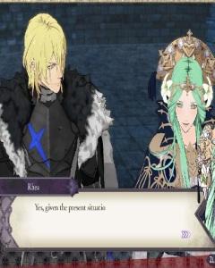 Dimitri alliance with Lady Rhea fire Emblem three houses Nintendo Switch