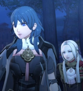 Edelgard and Byleth fire Emblem three houses Nintendo Switch