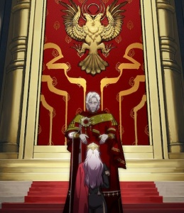 Edelgard is crowned emperor fire Emblem three houses Nintendo Switch