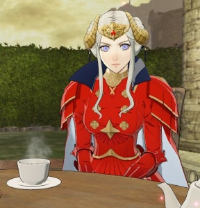 Emperor Edelgard tea party fire Emblem three houses Nintendo Switch