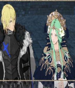 Lady Rhea alliance with King Dimitri fire Emblem three houses Nintendo Switch