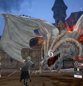Dragon Lady Rhea vs Byleth fire Emblem three houses Nintendo Switch