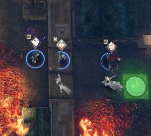 Linhardt byleth final battle crimson flower fire Emblem three houses Nintendo Switch
