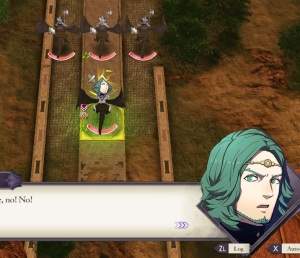 Seteth notices that Flayn died fire Emblem three houses Nintendo Switch