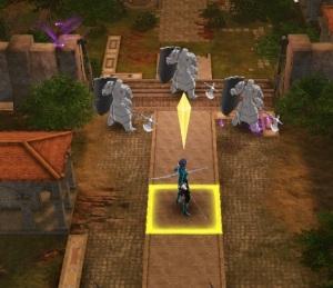 Shamir fighting for Lady Rhea Fire Emblem three houses Nintendo Switch