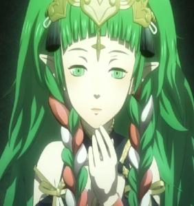 Fire Emblem three houses goddess Sothis waking up Nintendo Switch