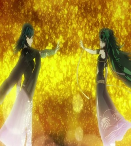 Sothis fuses with byleth fire Emblem three houses Nintendo Switch