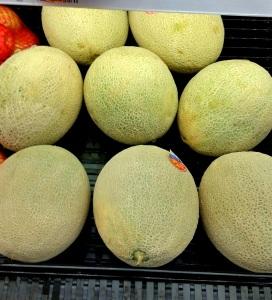 Cantaloupes at Walmart
