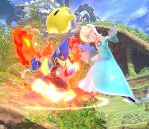 Falco vs rosalina and luma Gaur Plain Stage super Smash Bros ultimate Nintendo Switch Xenoblade Chronicles