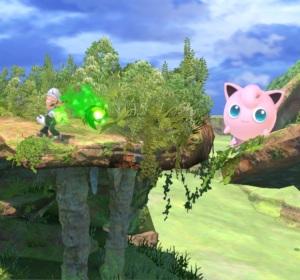 Luigi vs jigglypuff Gaur Plain Stage super Smash Bros ultimate Nintendo Switch Xenoblade Chronicles