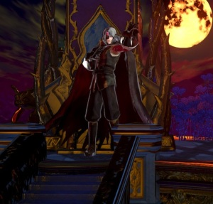 Gebel on the throne Bloodstained ritual of the night Nintendo Switch Xbox One PS4