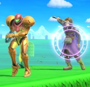 Bounce shield Dragon Quest hero super Smash Bros ultimate Nintendo Switch SquareEnix