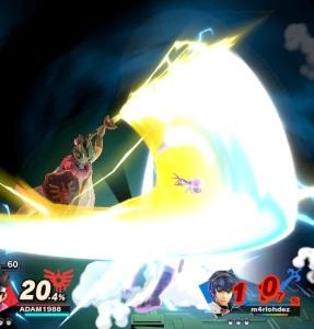 Dragon Quest hero Final Smash super Smash Bros ultimate Nintendo Switch SquareEnix