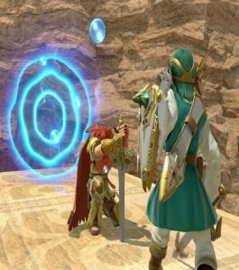 Dragon Quest hero using sleep magic on roy Dragon Quest hero super Smash Bros ultimate