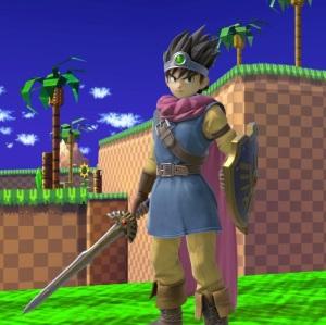 Dragon Quest hero super Smash Bros ultimate Nintendo Switch SquareEnix
