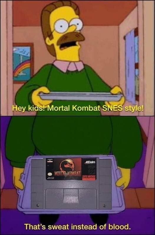 memes mortal Kombat super Nintendo