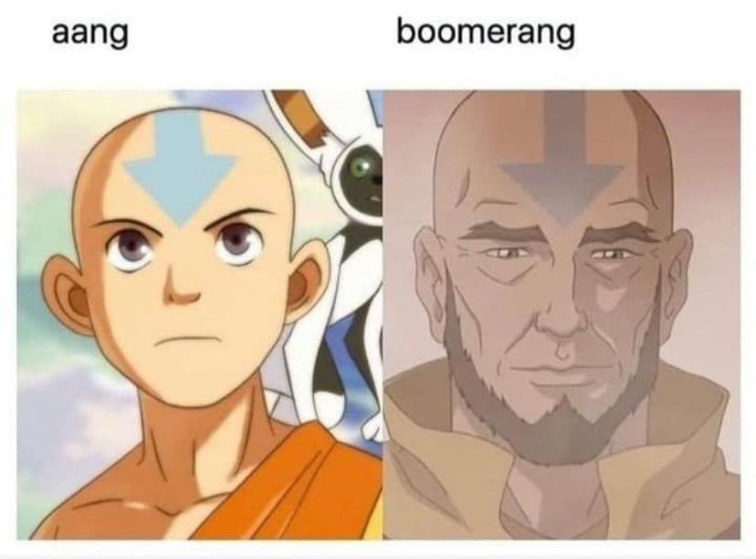 Memes Avatar the last Airbender aang