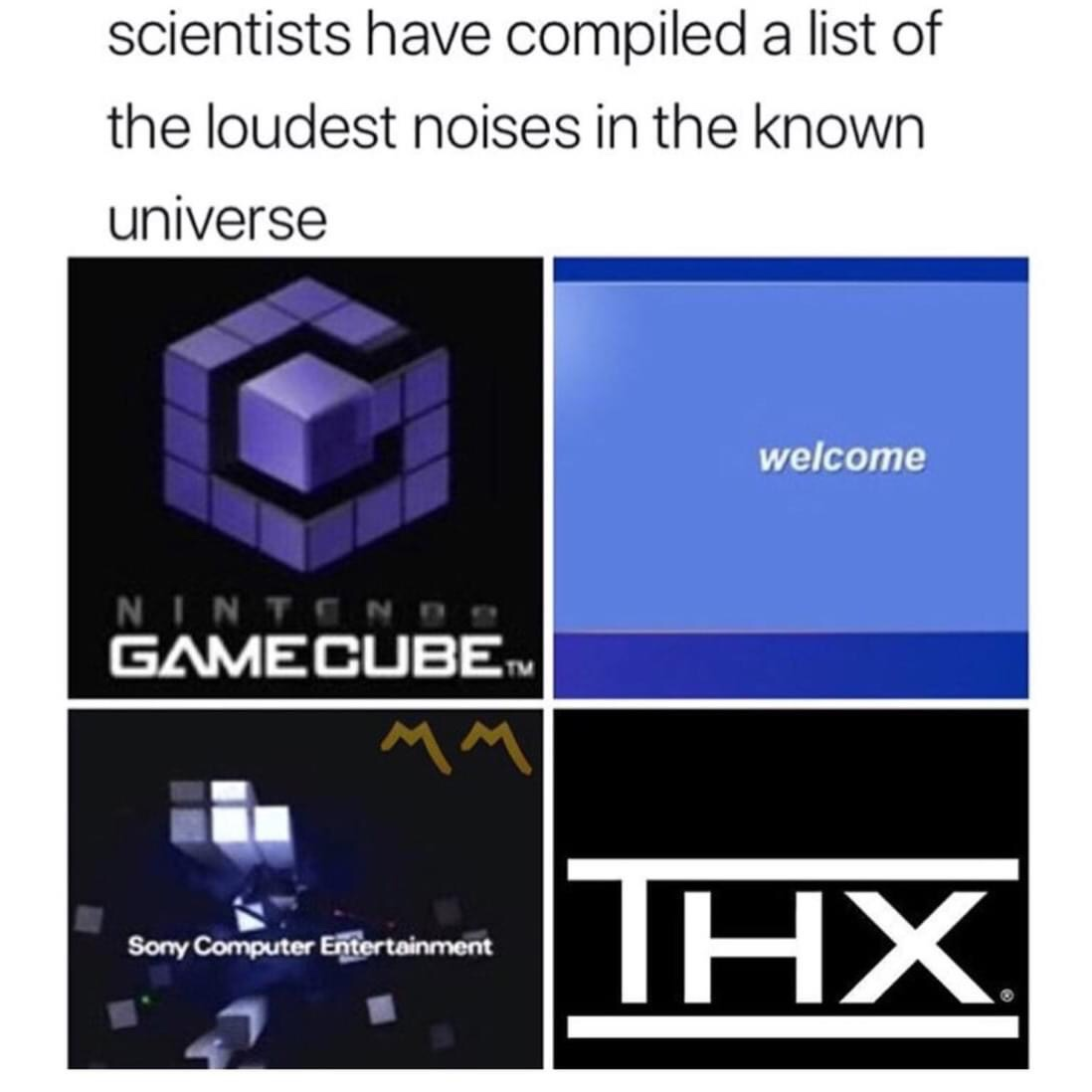 Memes Nintendo game cube start up noise