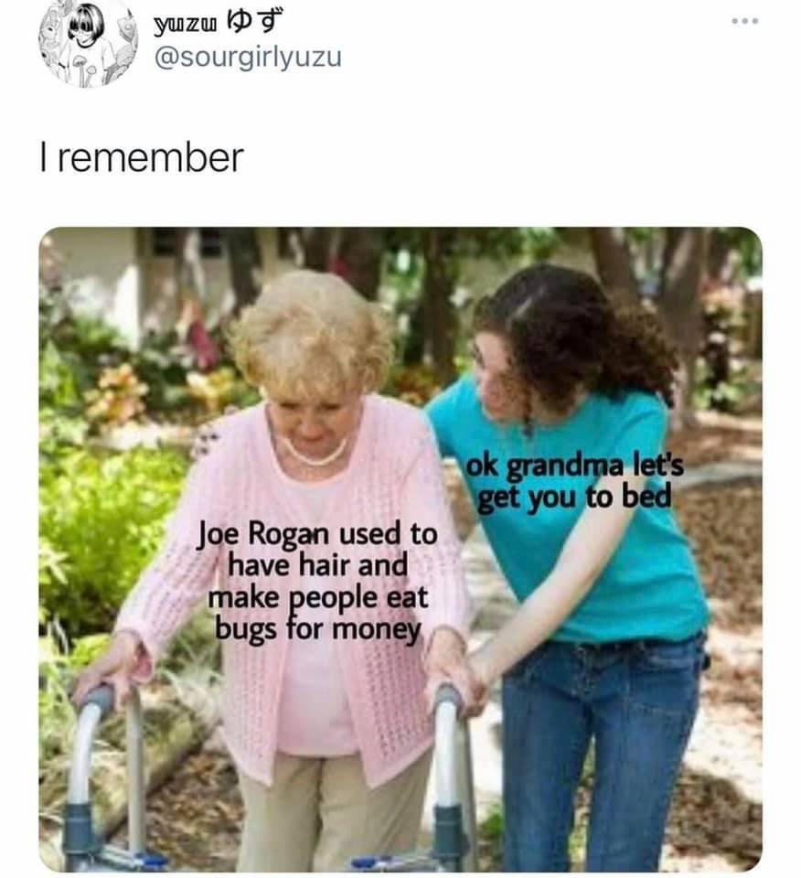 Memes Joe Rogan fear factor