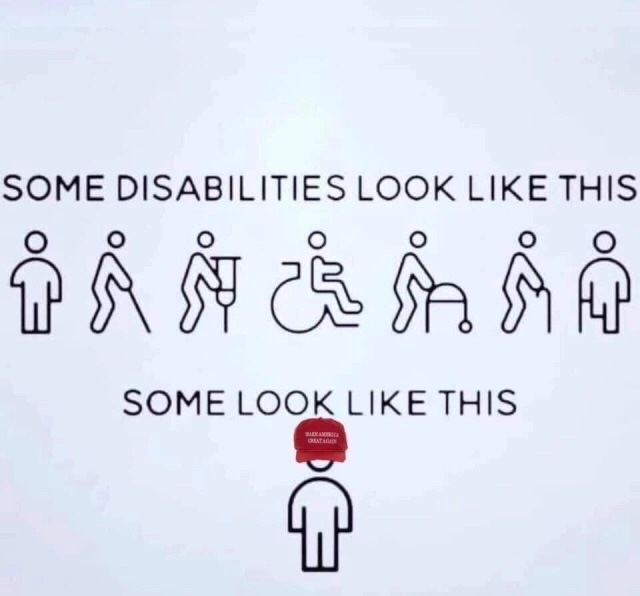 Memes donald Trump supporters are disabled