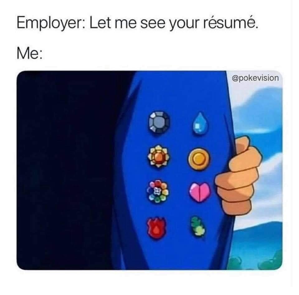 Memes Pokémon gym badges