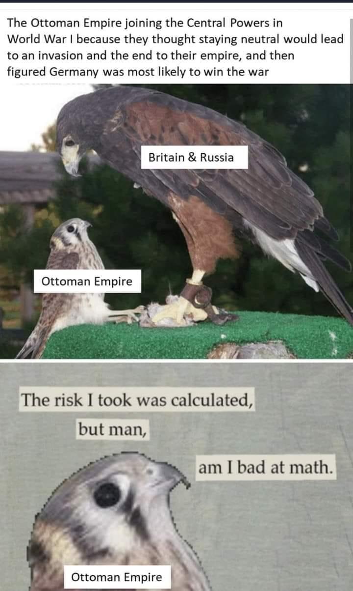 Memes ottoman empire world war one