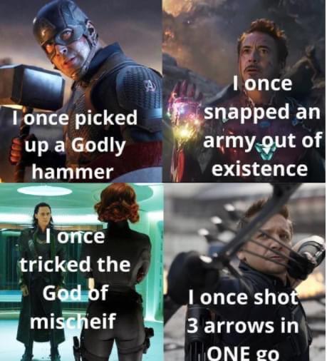 Memes hawkeye MCU