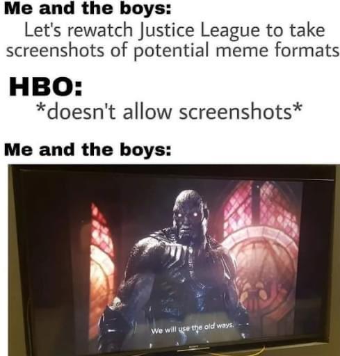Memes HBO max