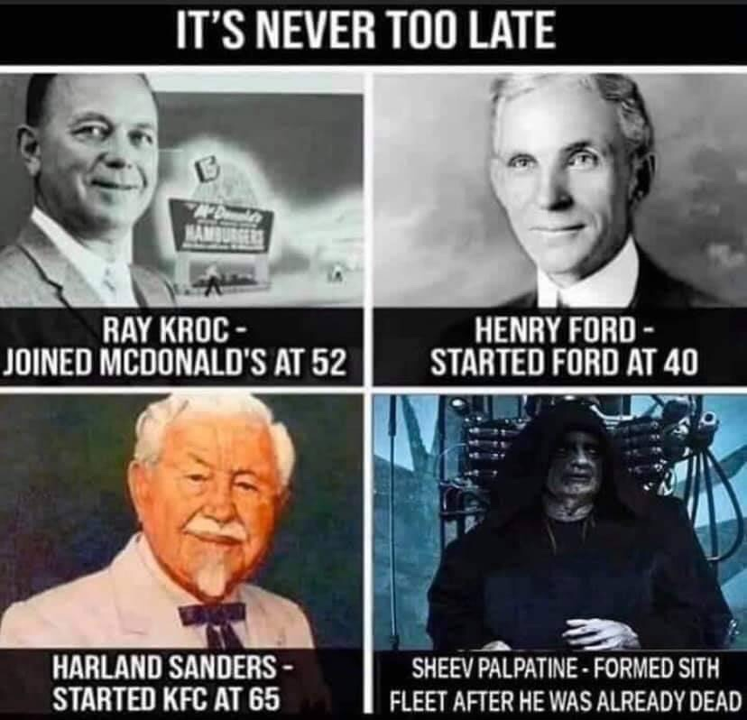 Memes Ray Kroc henry Ford colonel sanders