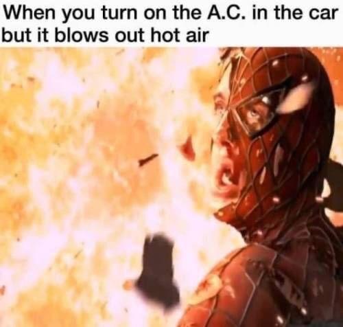 Memes AC in the car