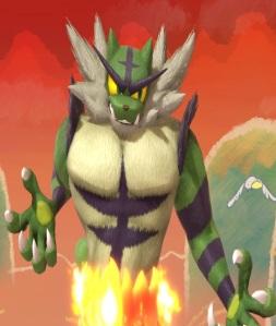 Incineroar super Smash Bros ultimate Nintendo Switch