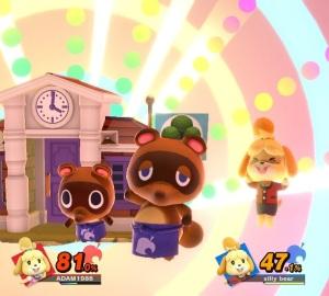 Final Smash Isabelle super Smash Bros ultimate Nintendo Switch animal crossing