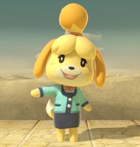 Isabelle super Smash Bros ultimate Nintendo Switch animal crossing
