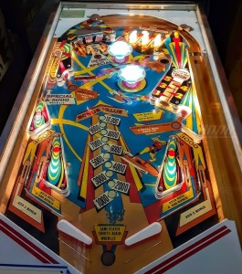 Jet Spin Pinball board