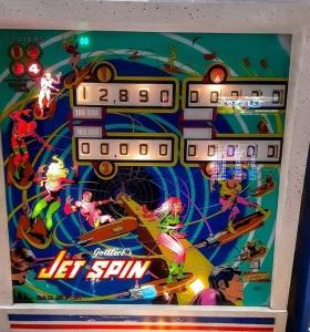 Jet Spin Pinball machine