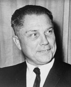 Jimmy Hoffa Teamster union president
