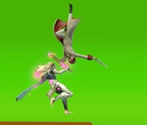 Joker versus corrin super Smash Bros ultimate Nintendo Switch atlus