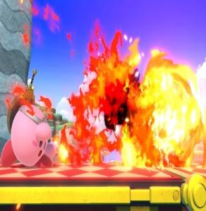 Kirby fireball Dragon Quest hero power super Smash Bros ultimate Nintendo Switch SquareEnix